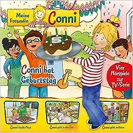 Meine Freundin Conni   Hörspiel Zur TV Serie / 04: Conni Hat Geburtstag /  Conni Backt Pizza / Conni Geht In Den Zoo / Conni Geht Verloren: Amazon.de:  Liane ...