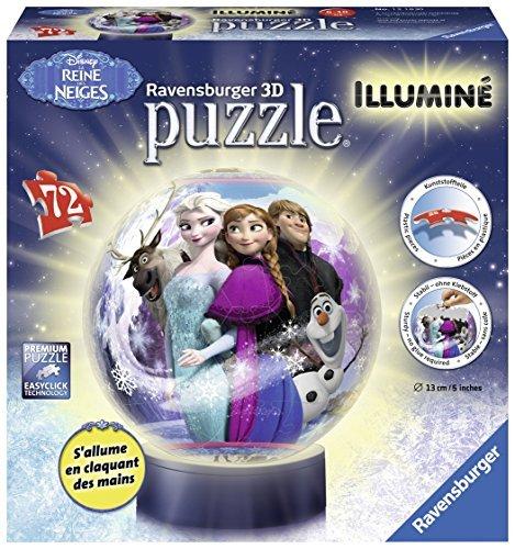 Ravensburger 12183Illuminated 3D Jigsaw Puzzleâ??Snow Queenâ??72Pieces by Ravensburger