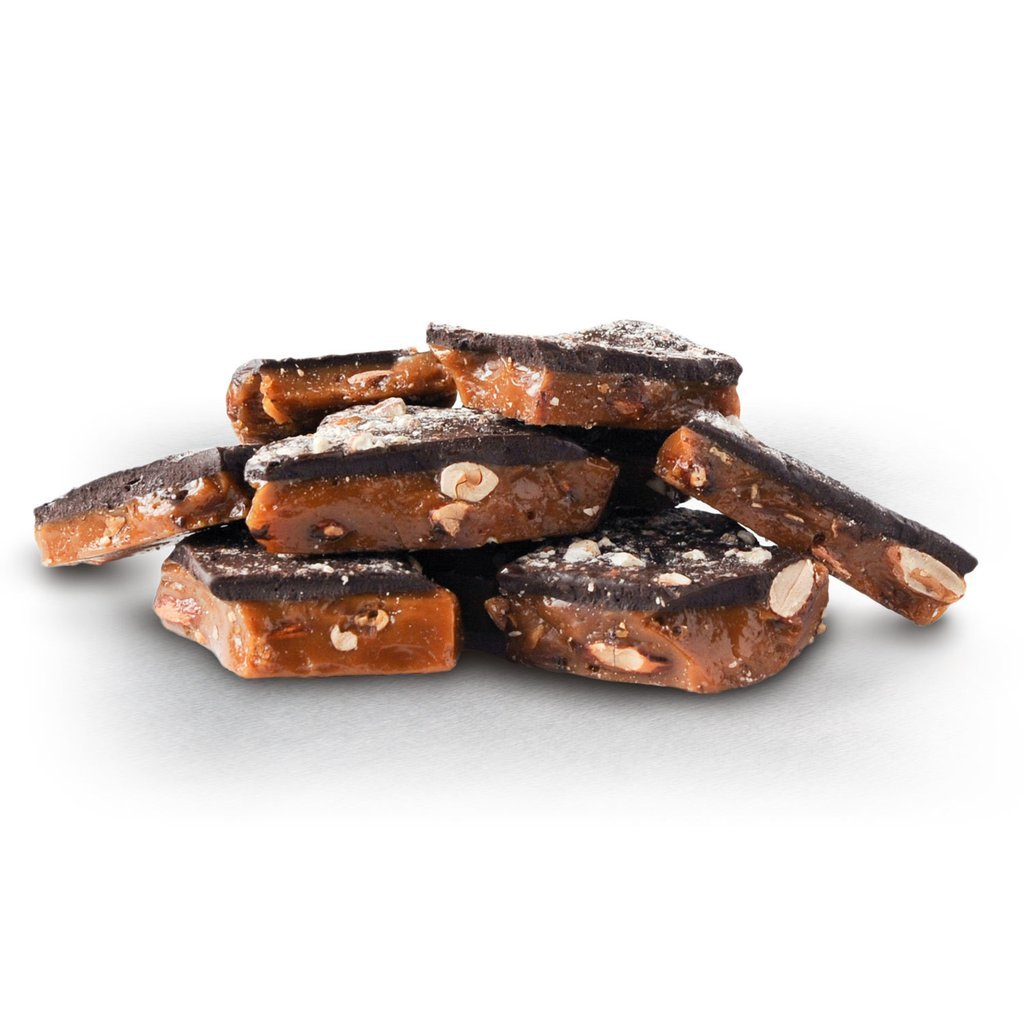 Dark Chocolate Almond Toffee- Pack of 2 (8oz. gift bag)