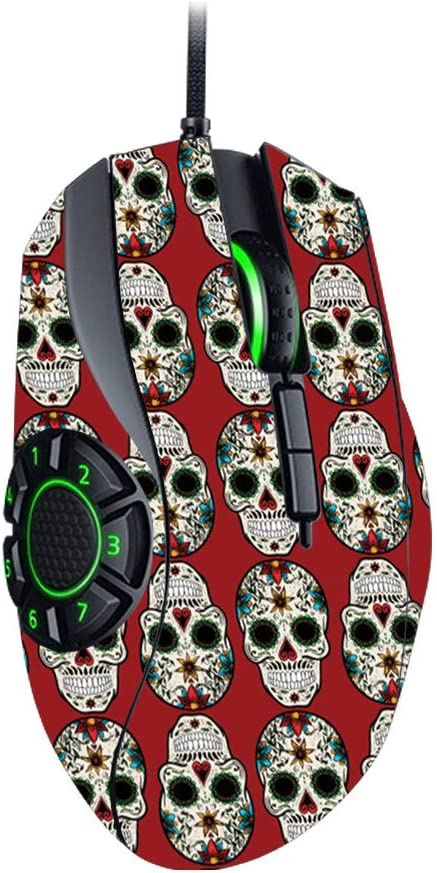 and Change Styles Protective Durable and Unique Vinyl Decal wrap Cover Made in The USA MightySkins Skin Compatible with Razer Naga Hex V2 Gaming Mouse Sugar Skull Easy to Apply Remove