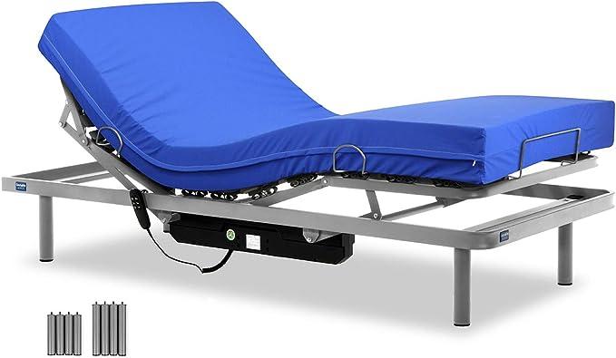 Gerialife® Cama articulada con colchón Sanitario ...