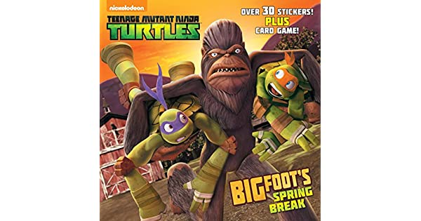 Amazon.com: Bigfoots Spring Break (Teenage Mutant Ninja ...