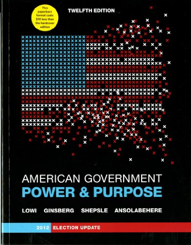 AMERICAN GOVERNMENT (PB),ELECT