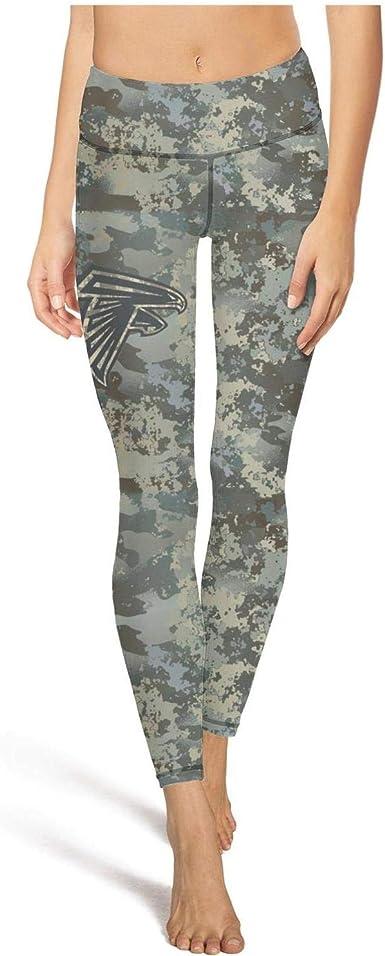 Amazon Com Womens Football Fans Camouflage Camo Printed Elastic Hot Yoga Leggings Pants Clothing