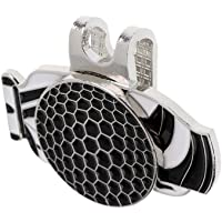 MagiDeal Golf Bag Pattern Alloy Golf Ball Marker with Magnetic Hat & Visor Clip Lightweight Portable
