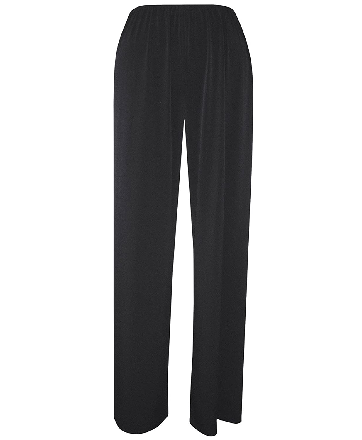 Alex Evenings 235053, Comfortable Wide Leg Evening Pants With Stretch Waist