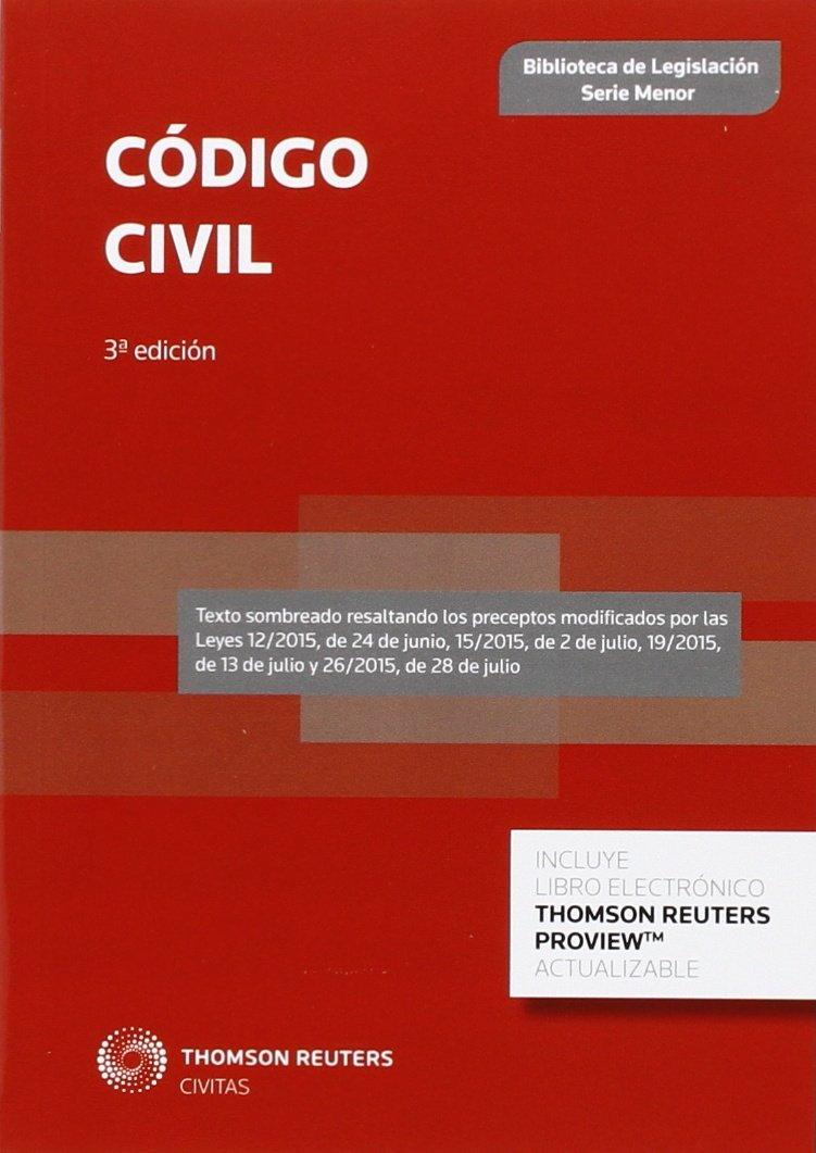 Código Civil (Serie Menor 2016 Bib. Leg.): Amazon.es: Aa. Vv.: Libros