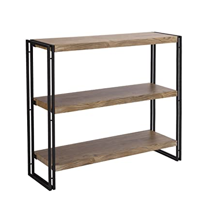 star espresso x with text office dp tier silver bookshelf com laminate finish and shelves amazon