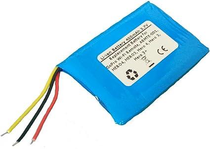Batería Acu //Hero 3 3+ 4 yd362937p batería para GoPro Wi-Fi Remote armte - 001