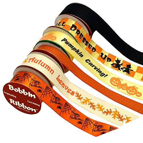 Morex Bobbin Ribbon Scrapbooking Halloween