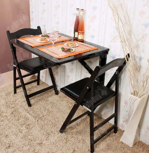 Sobuy 174 Wall Mounted Drop Leaf Table Folding Dining Table
