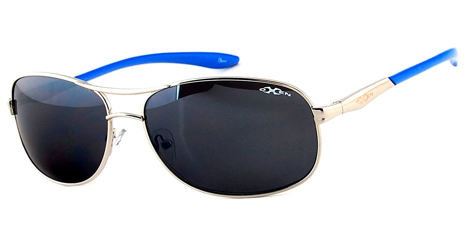 """Oxen Revolution 93006"" Sports Aviator Sunglasses with Flash Mirror Coating"