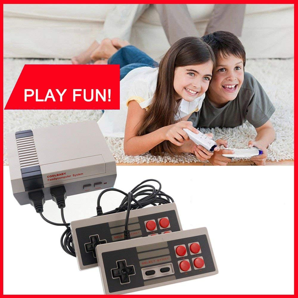 Newest (One day Sales ! )Retro Video Game Console Dual Joystick Vedio Game System Built-in 620 Classic Games