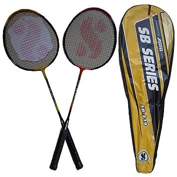 4e0b3868e69 Silvers SB 319 Two set Badminton Racket  Amazon.co.uk  Sports   Outdoors