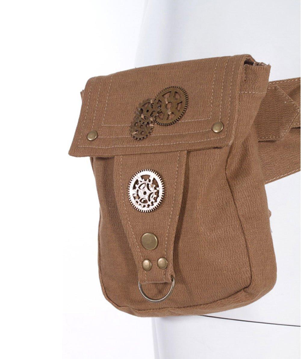 Steampunk Cosplay Backpack School Girls Handbags Messenger Bags Costumes Purses (Black) Top Star Store