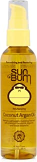 product image for Sun Bum Coconut Argan Oil | Vegan and Cruelty Free Protecting and Strengthening Oil for All Hair Types | 3 oz, Clear, Model:80-41040