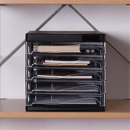 Estantería Archivo Archivo Clasificador A4 Organizador de cinco ...