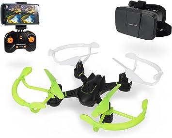 /RC DT FPV-VR Cuadric/óptero Dickie Toys 201119434/ teledirigido con funci/ón de c/ámara y Gafas de Realidad Virtual 20/cm