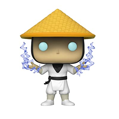 Funko Pop! Moral Kombat Raiden with Lightning Insider Club Exclusive: Toys & Games