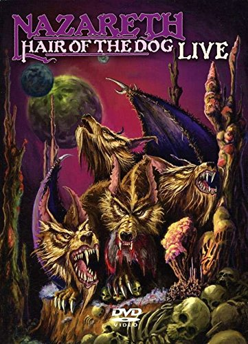DVD : Nazareth - Hair of the Dog Live (DVD)