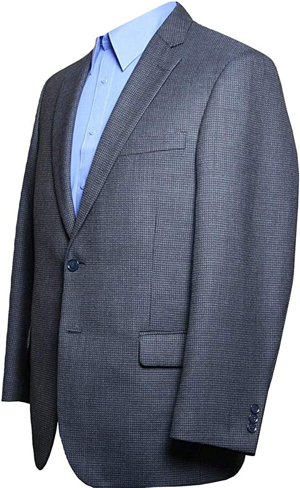 Big and Tall Classic All Wool Sport Coats to Size 72 in Portly, Short, Regular, Long, and Extra Long Sizes