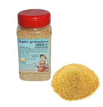 Gr 300 ajos granulare de polvo de dispensador para salsas, Carni y patatas: Amazon.es: Hogar