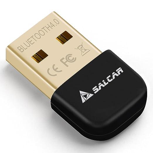 30 opinioni per Salcar Adattatore USB Bluetooth 4.0 USB, Ricevitore Wireless, per PC / Cuffie