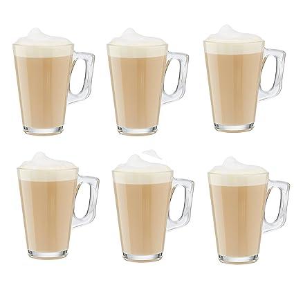 Juego de 6 vasos para máquinas de té, café y bebidas
