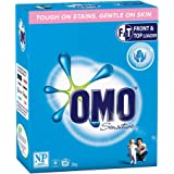Omo Sensitive Laundry Detergent Washing Powder Front & Top Loader 2kg