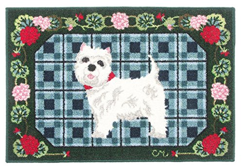 round-rugs-kitchen-rugs-round-area-rugs-claire-murray-rugs-2x3-feet-washable-westie-dog