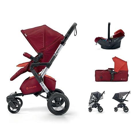 Concord - Coche de paseo trío neo mobility set rojo: Amazon ...