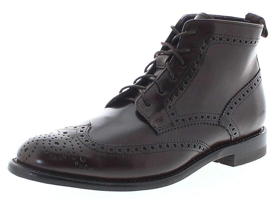 Sendra Stiefel Herren Lederschuhe 10742 braun Business Schuhe Anzugschuhe