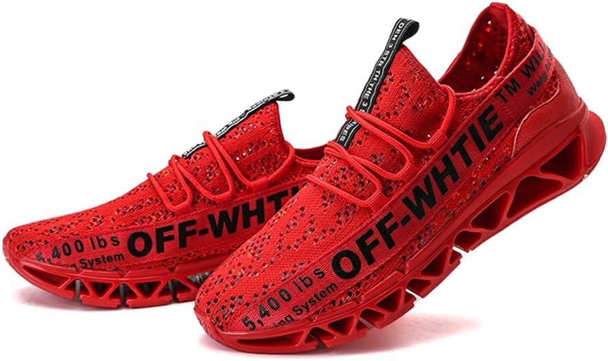 Shoe house Zapatillas de Correr para Hombre con Cuchilla, Zapatos de Caminar, Casuales, Antideslizantes, Zapatos de Trabajo: Amazon.es: Deportes y aire libre
