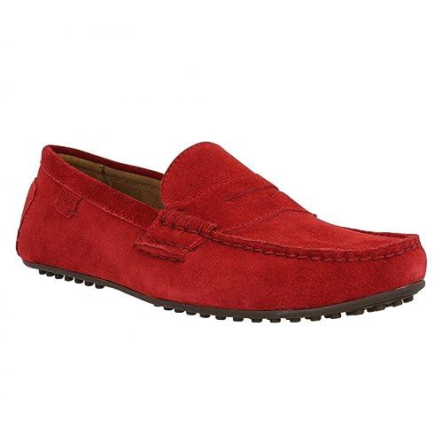 Polo Ralph Lauren Wes e terciopelo hombre rojo, rojo (rojo), 45: Amazon.es: Zapatos y complementos