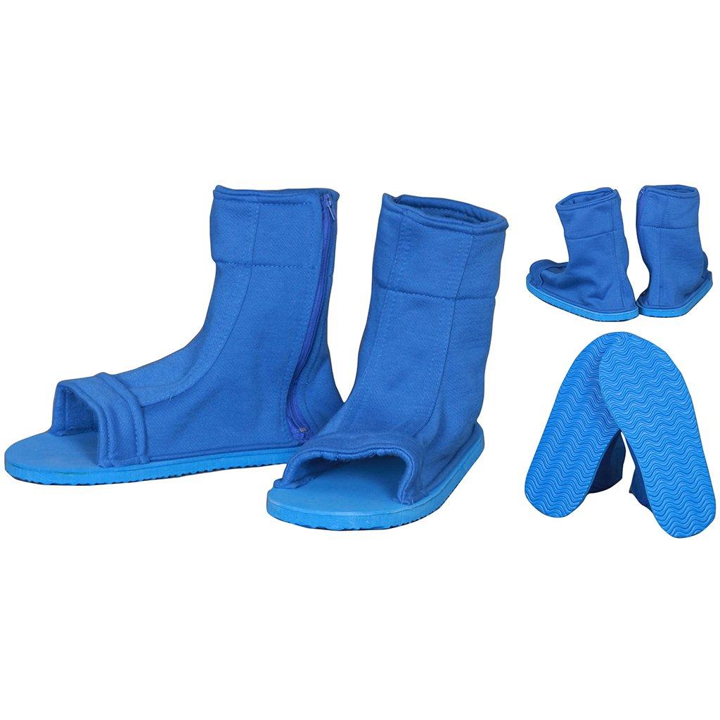 NARUTO Cosplay Zapato Blue ninja Mens Size EU 44: Amazon.es ...