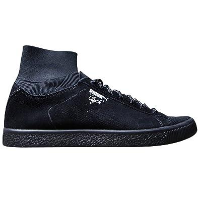 new concept 31be2 fc792 Amazon.com | PUMA Men's Clyde X Bkrw High-Top Leather ...