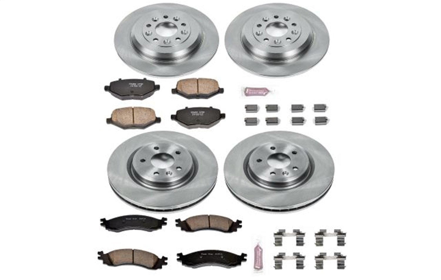 KOE5508 Daily Driver OE Brake Kit Front and Rear Autospecialty