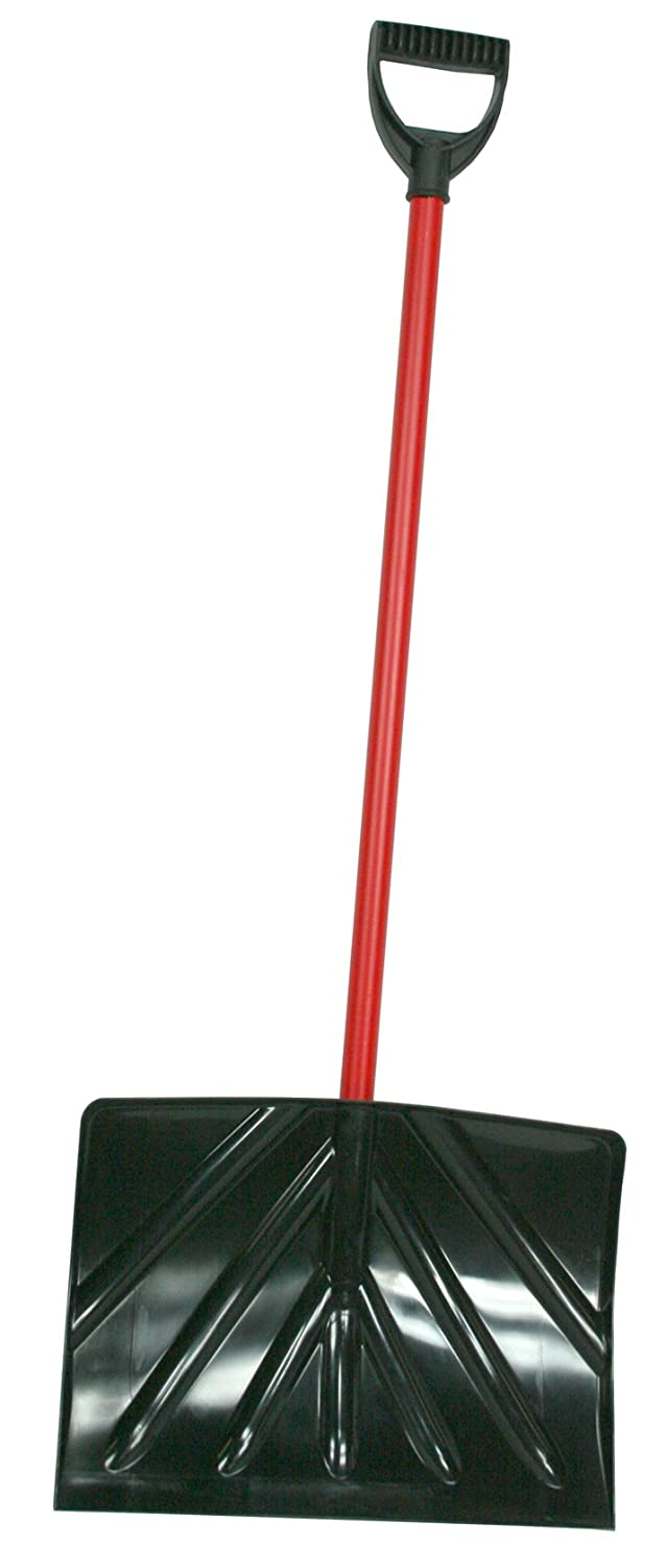 Ames Tools True Temper Klondike 1573700 18-Inch Poly Snow Shovel with Steel Handle