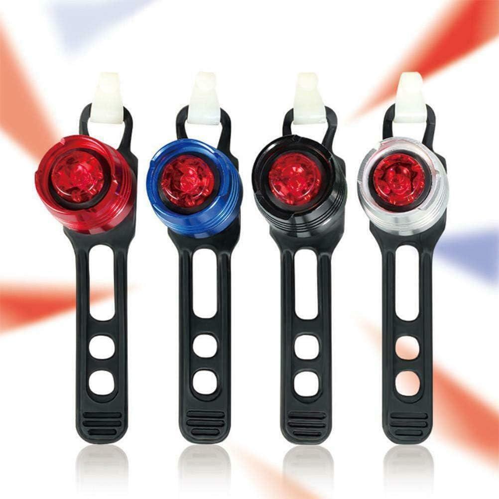 Kenyaw Fahrrad R/ücklicht LED Fahrrad R/ückleuchten Weitwinkelsicht Fahrradr/ückleuchte wasserdichte Fahrradlicht Fahrradlampe f/ür Radfahren