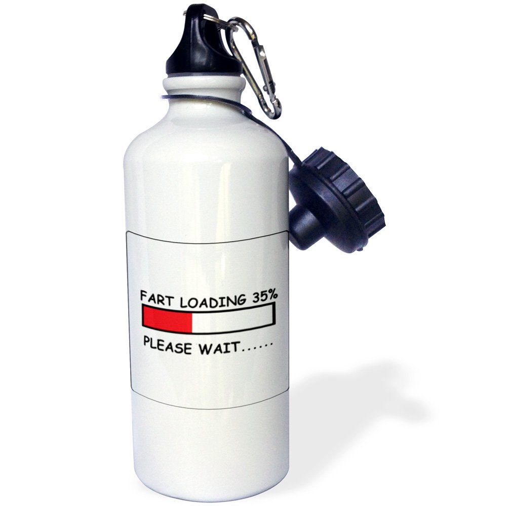 21 oz Multicolored 3dRose Fart Loading-Sports Water Bottle wb/_178680/_1 21oz