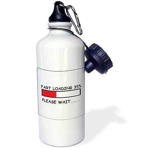 3dRose Fart Loading-Sports Water Bottle 21 oz Multicolored 21oz wb/_178680/_1