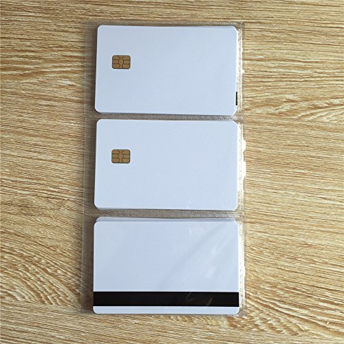 SLE4442 Contact smart card with 8mm Hico magnetic stripe -10pcs [並行輸入品] B01LWNYH2A