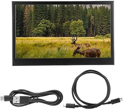 Opinión sobre Monitor IPS portátil, Pantalla LED de 13,3 Pulgadas Monitor HDMI 1920 * 1080p, Altavoz Incorporado, Compatible con Mini HDMI y Type-C