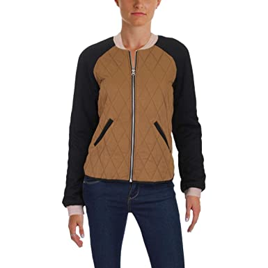 Amazon Com Scotch Soda Womens Quilted Fall Bomber Jacket Clothing