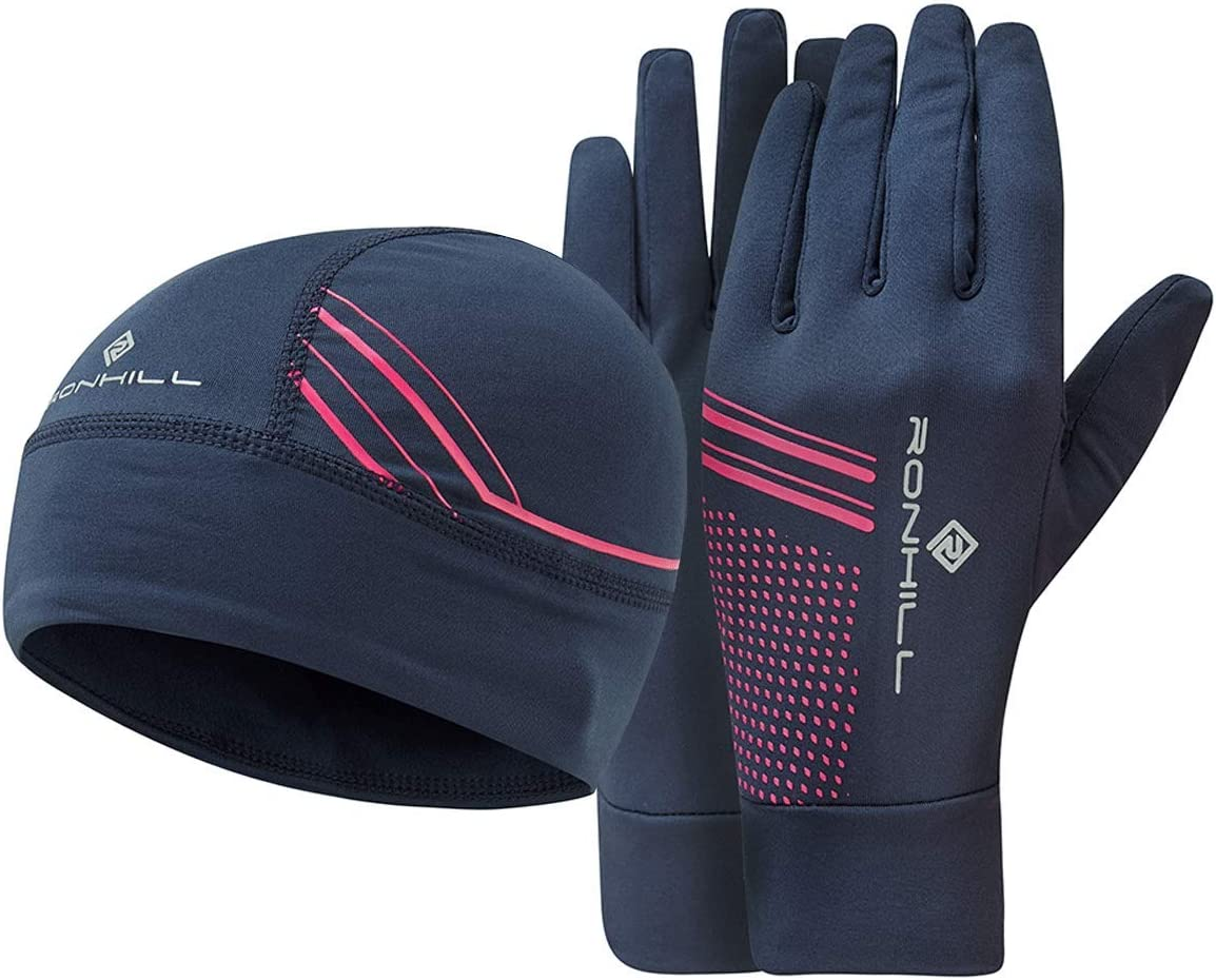 Ronhill Unisex-Adult Beanie and Glove Set