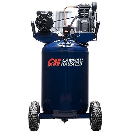 vertical 30 gallon portable air compressor 5 5cfm 2hp 120v 240v rh amazon com Campbell Hausfeld Airless Paint Sprayer Campbell Hausfeld Air Compressor Manual