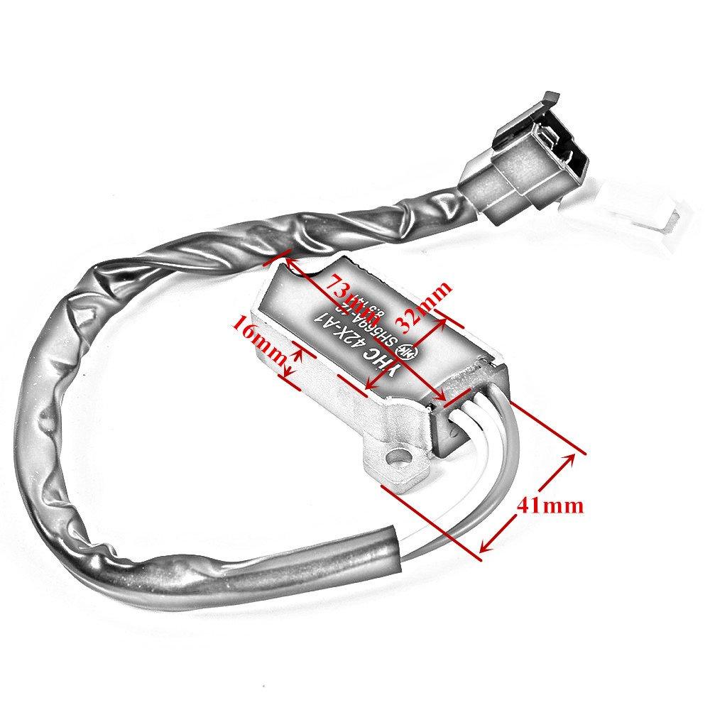 Motorrad Spannungsregler Gleichrichter f/ür Yamaha XV 535//XV 110/Virago XV 1100/Virago VMX 1200/XV750