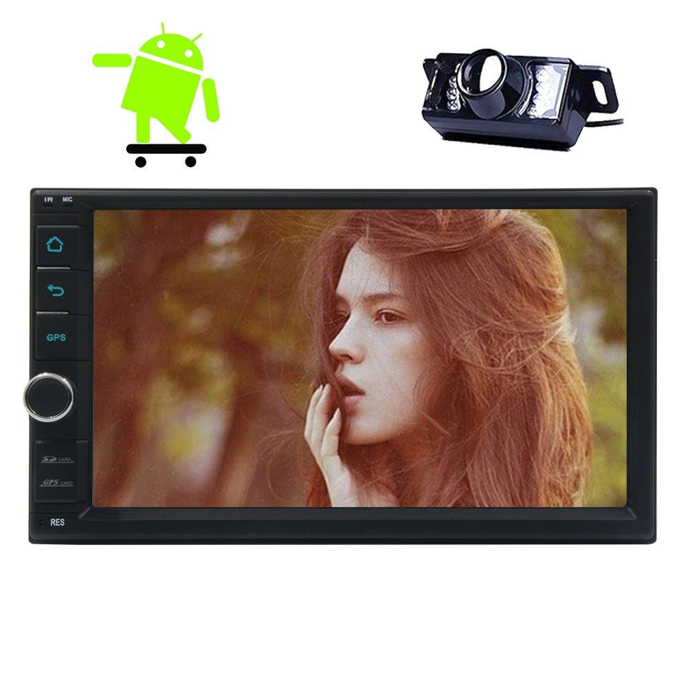 New d¨¦velopp¨¦s Android 6.0 OS Quad Core Wifi 7 pouces dans Dash 2 Din Car Deck Unit¨¦ st¨¦r¨¦o Head GPS st¨¦r¨¦o Navigation voiture avec plein &um