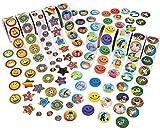 Fun Express Super Sticker Assortment - 1000 Stickers