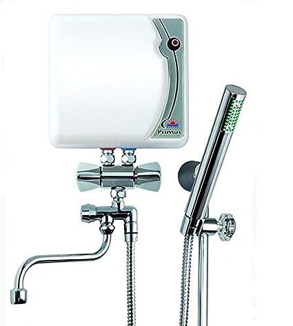 230 v eléctrica instantánea baño ducha y lavabo grifo de agua caliente del calentador 4,